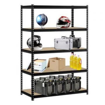 Intermetro 4 Tiers Ventilated Store Room Rack Heavy Duty Steel Garage Storage Shelving Unit