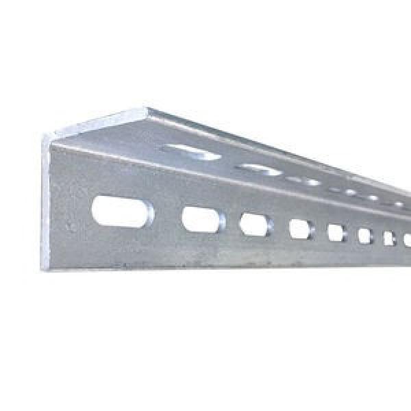 White Slotted Steel Angle Rack Metal Angle Steel Angle Bar for Shelf Racks Warehouse Shelf