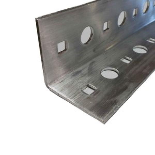 Asim 60 Degree Unequal Polished Angle Steel Holes