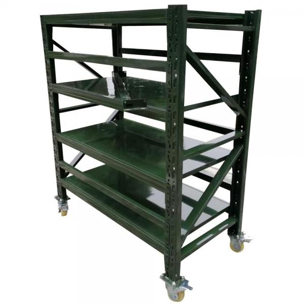 Ebilmetal OEM Small Wholesale Allowed Blue and Orange Warehouse Storage Vna Pallet Rack
